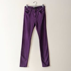 BDG Purple Cigarette Skinny Jeans
